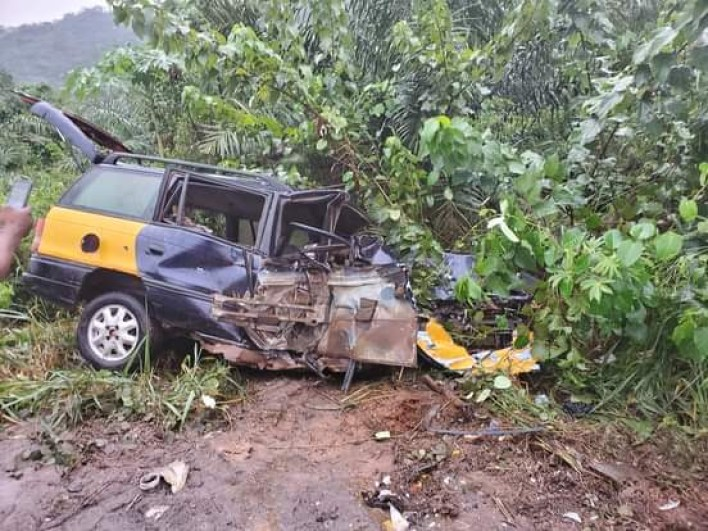 a8d3d52b06c24664b61e5eb5fcec8c3c - Prophet Nigel Gaisie escapes ghastly accident (PHOTOS)
